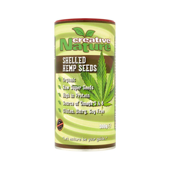 Creative-Nature-5060113080523-Shelled-Hemp-300g