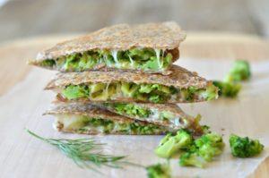 broccoli-quesadilla-with-avocado-dill-feature
