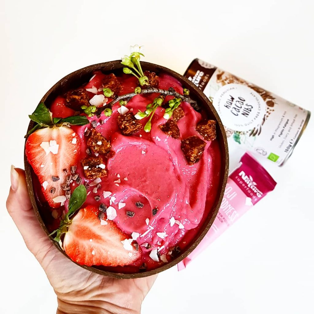 Pink Goodness Smoothie Bowl