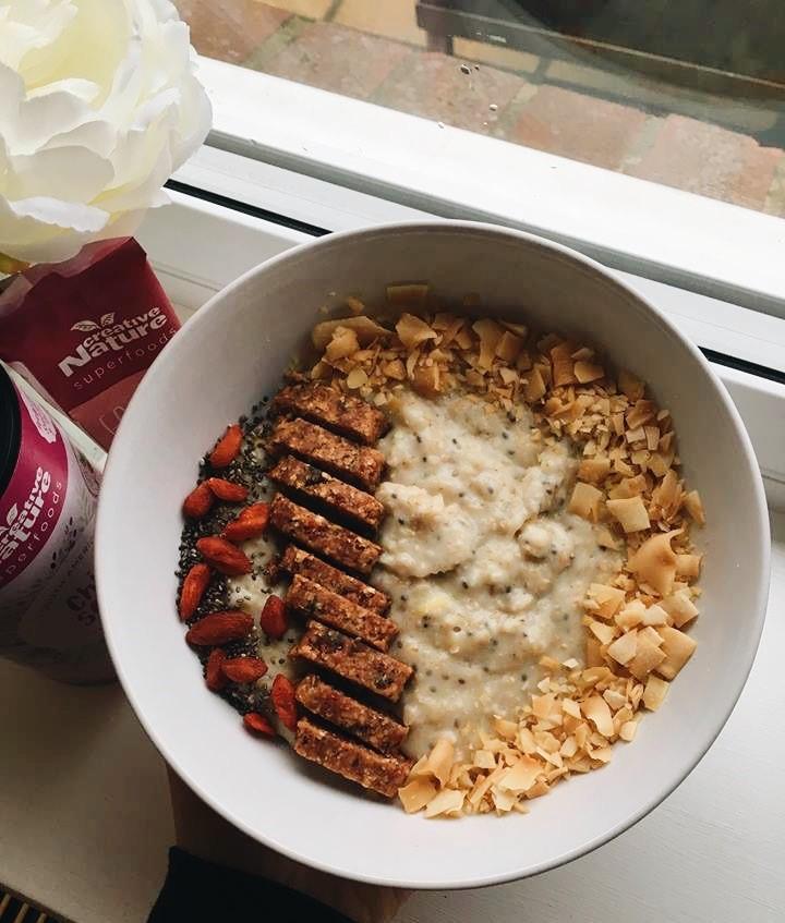 Lemon and Chia Seed Porridge