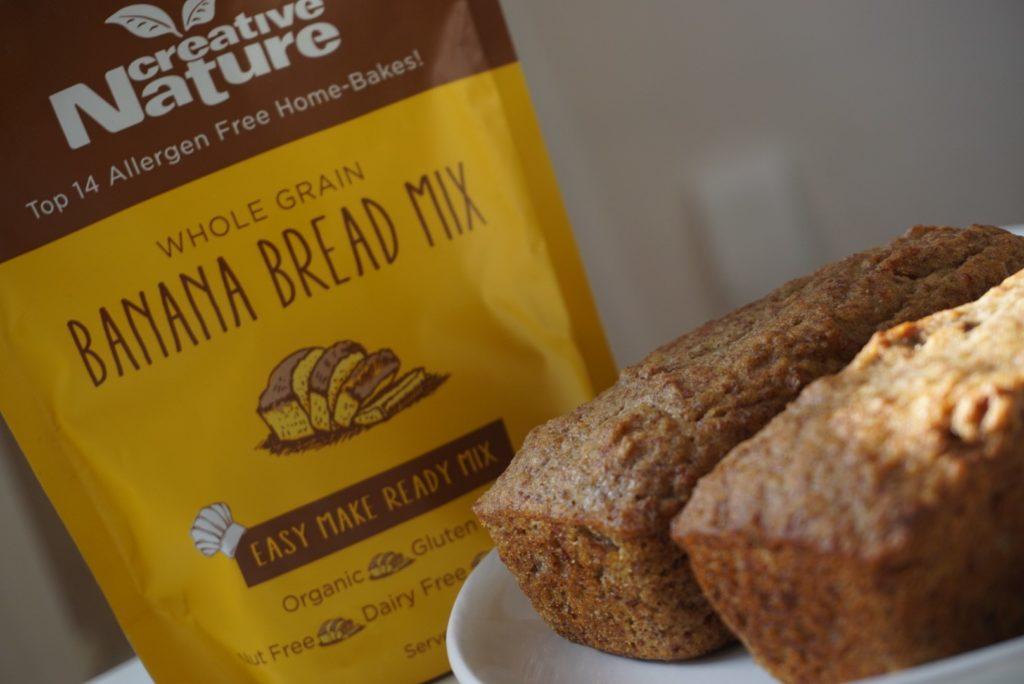 Vegan Wholegrain Banana Bread