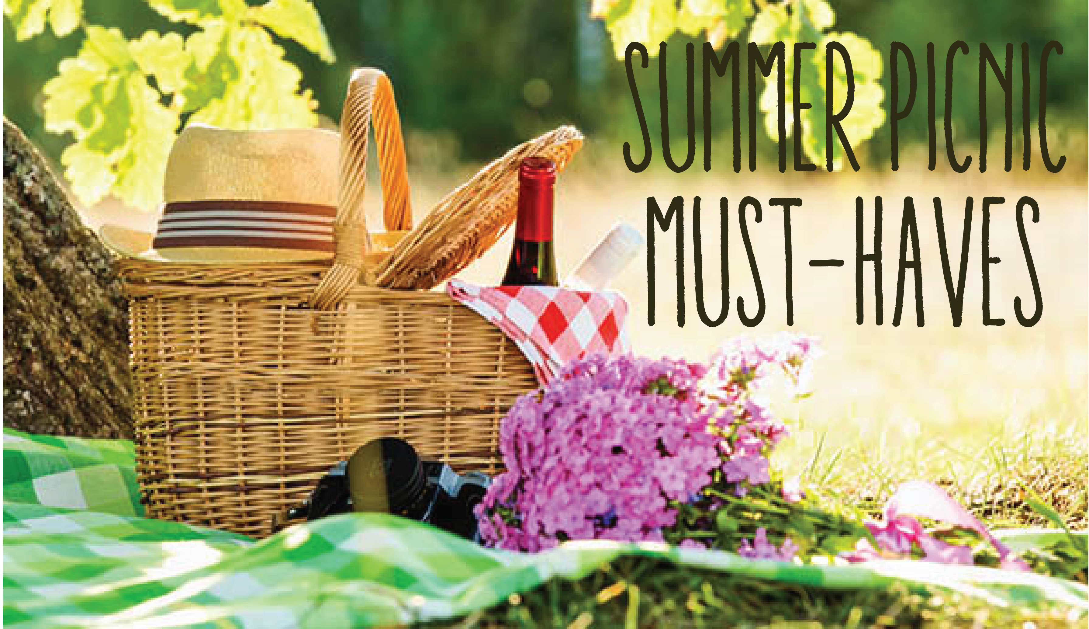 Summer Picnic must haves 10 Creative Nature Superfoods