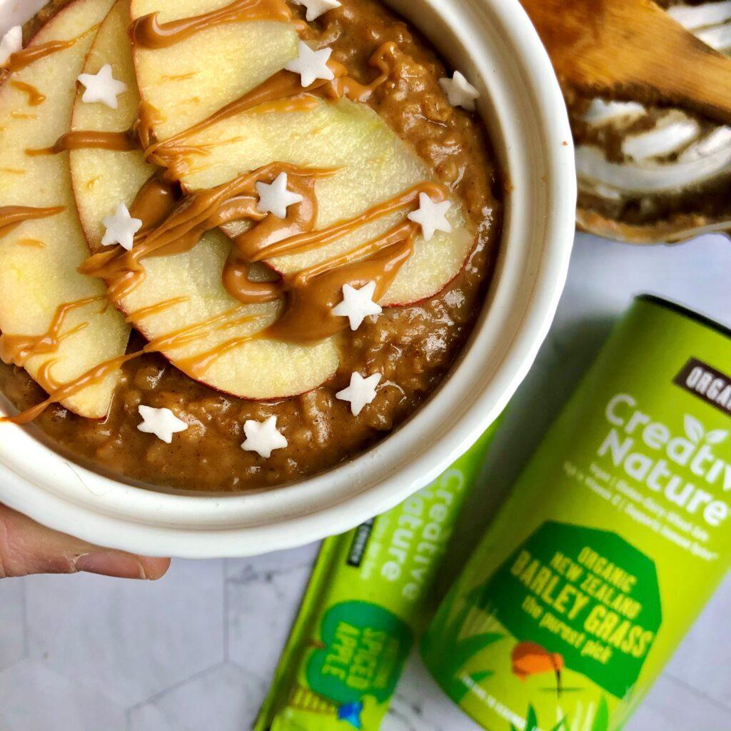 Spiced Apple Porridge